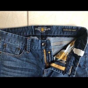Lucky Brand The Sweet Jean Straight Leg Denim